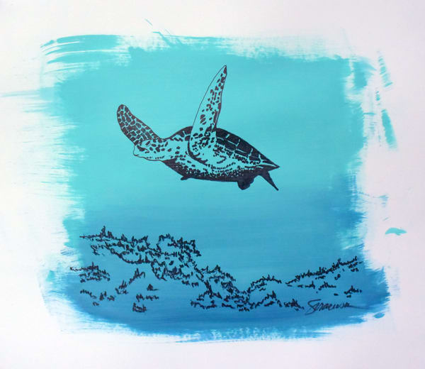 In Flight, Mixed Media Original Art | juliesiracusa