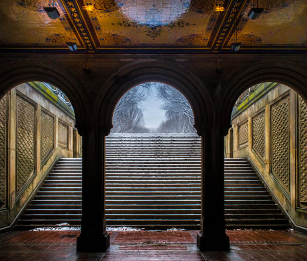 Bethesda Terrace, Central Park Photography Art | Ben Asen Photography