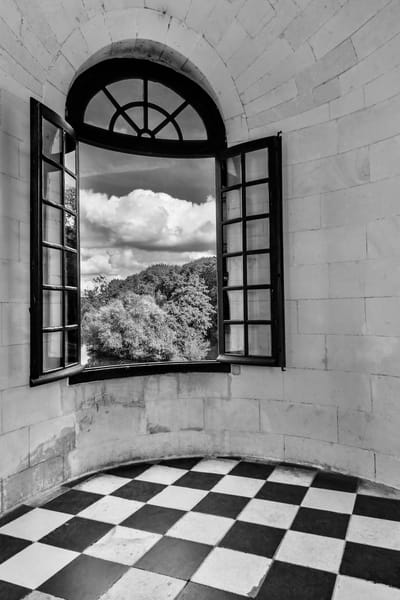 Checkered View Photograph