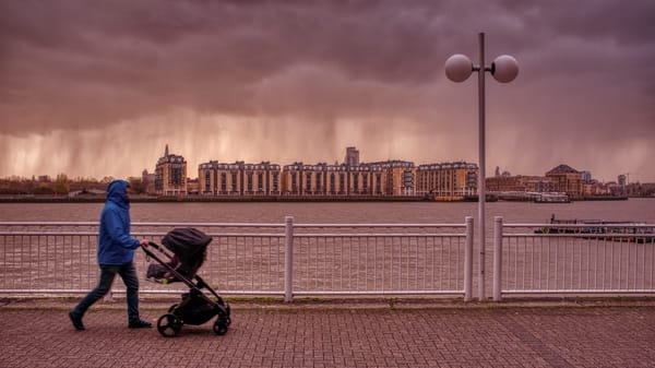 Here Comes The Rain! Art | Martin Geddes Photography