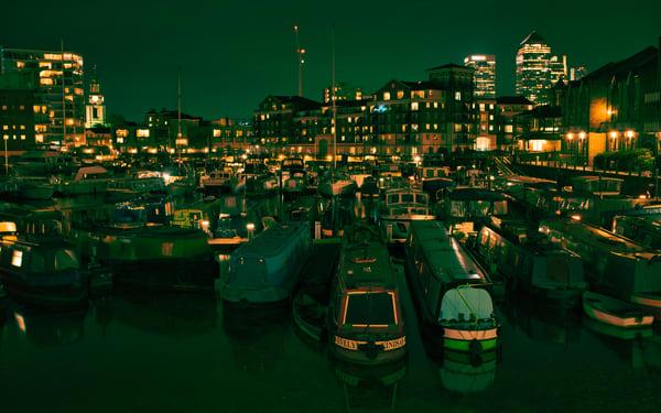 Limehouse Basin Goes Green Art | Martin Geddes Photography