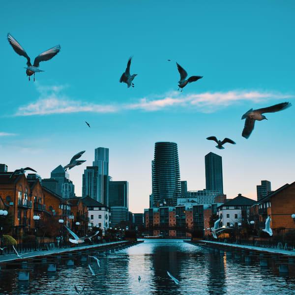 Milwallk Docks 7 Art | Martin Geddes Photography