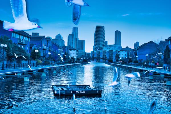 Milwall Docks 1 Art | Martin Geddes Photography