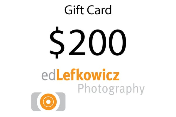 $200 Gift Card | Ed Lefkowicz Photography