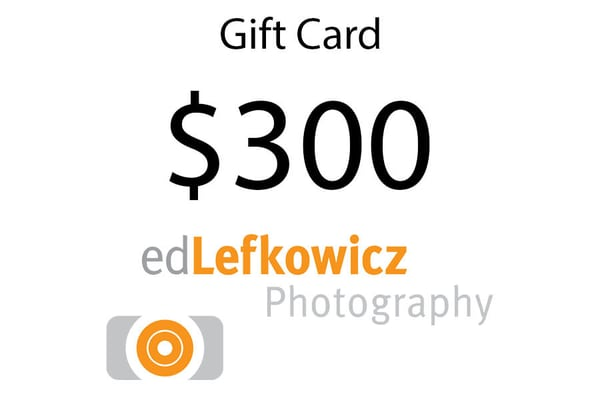 $300 Gift Card | Ed Lefkowicz Photography