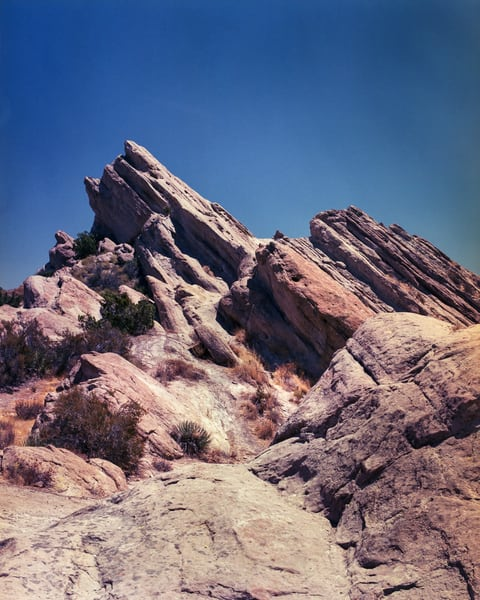 California Landscape Photography - Vasquez Rocks