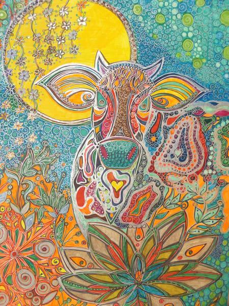 Vermont Cow Art   Cynthia Christensen Art