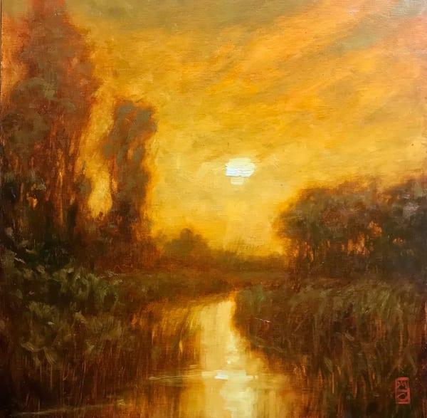Sold   Golden Haze | Michael Orwick Arts LLC