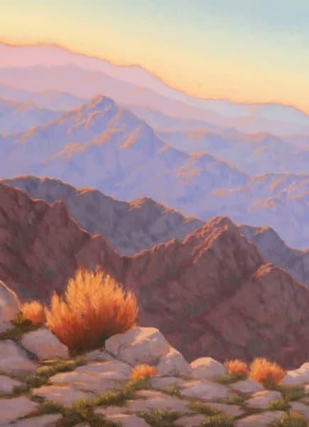 Desert Mountain Sunset View Art | Terry Sauve Fine Art