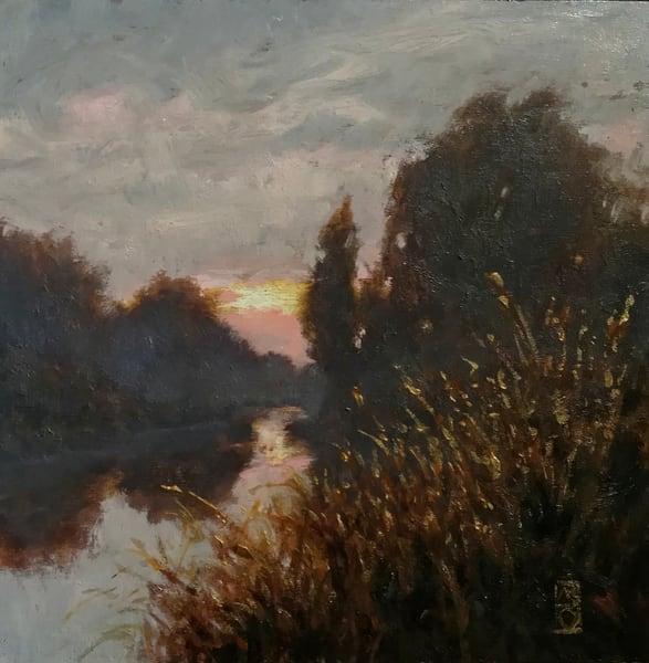 Sold   Gentle Glow  | Michael Orwick Arts LLC