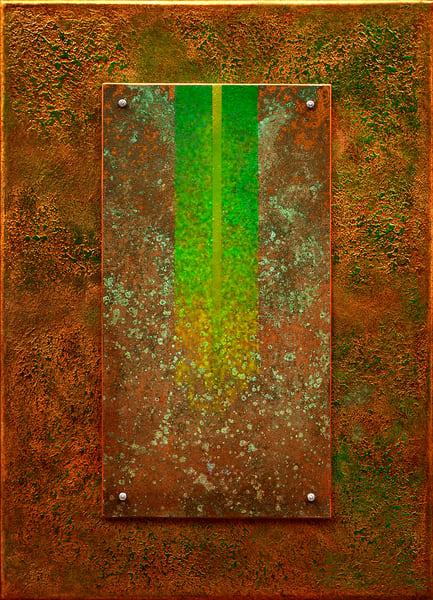 15 Golden Rayes With Green 05 Asf  Art | Meta Art Studios