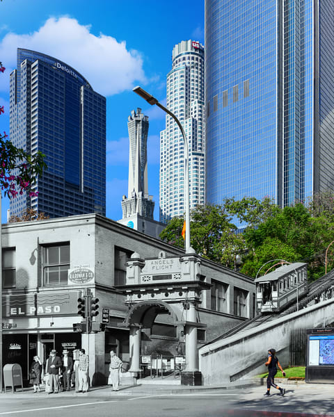 Angels Flight 2 Art | Mark Hersch Photography
