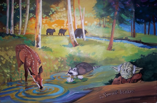 Woodland  Fun Art | susie mccolgan art