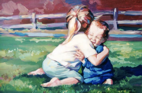 Best Hug Ever Art | susie mccolgan art