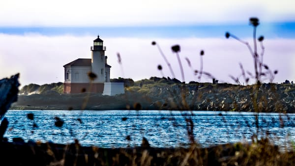 Coquille River L Ighthouse Photography Art   Ron Olcott Photography