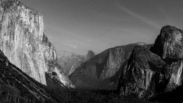 Why Its Called Tunnel View Photography Art   Ron Olcott Photography