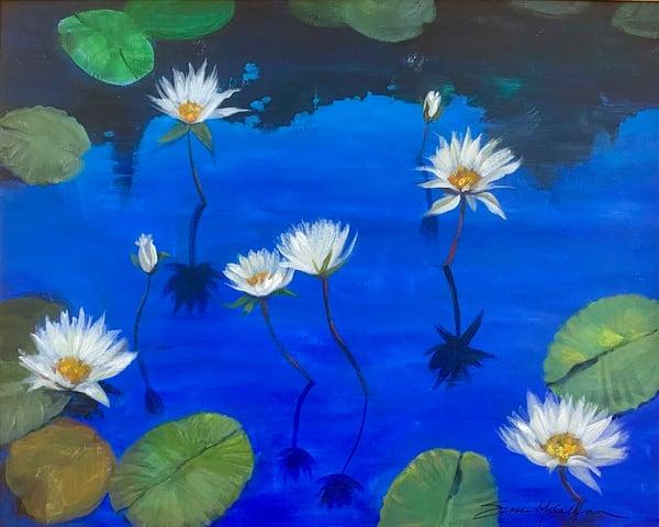 Bathing In Blue Art | susie mccolgan art