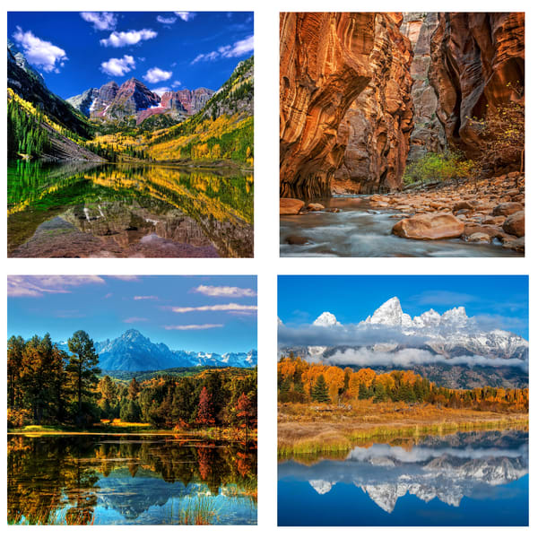 Landscape Coaster Set | Ken Smith Gallery