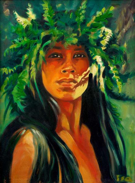 Isa Maria : Hawaiian portraits, goddess paintings and prints
