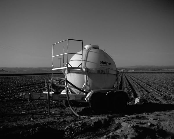 Space Probe/Farm Object - Film Landscape Photography