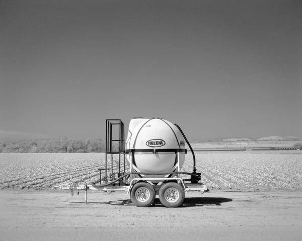 California Landscape Photography - Irrigation Pod/Space Probe
