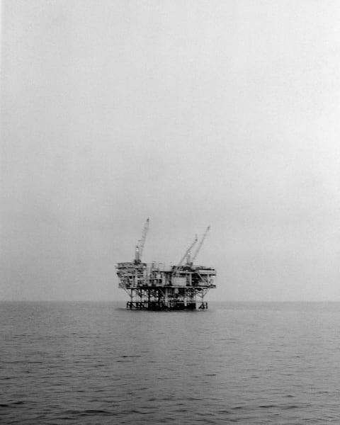 California Landscape Photography - Oil Platform, Santa Barbara Channel