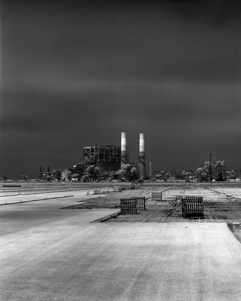 California Landscape Photography - Power Station and Sod Farm