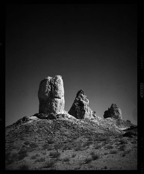California Landscape Photography - 'Trona Pinnacles, No. 8