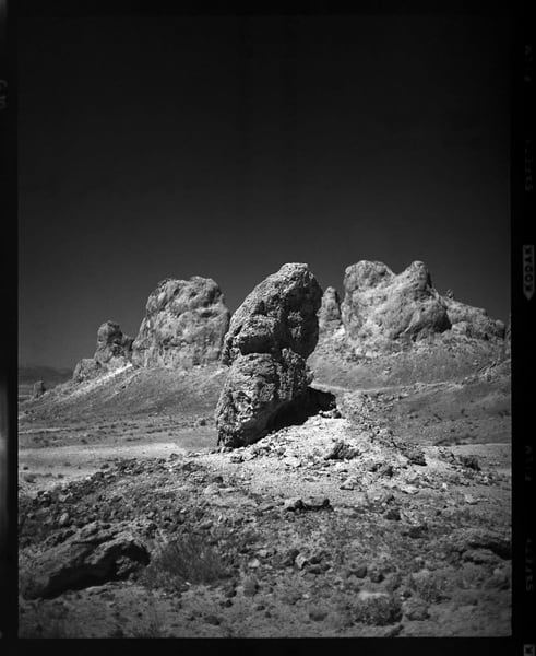 California Landscape Photography - 'Trona Pinnacles, No. 9
