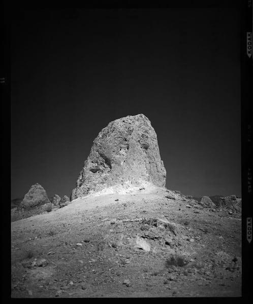 California Landscape Photography - 'Trona Pinnacles, No. 11