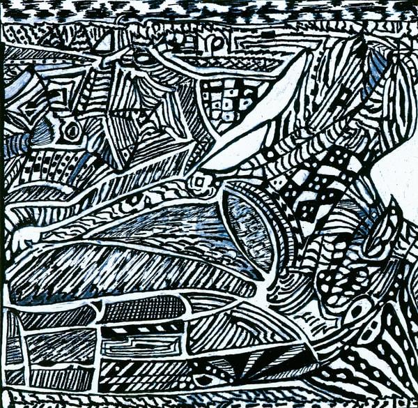 Blues Scale Series #4 Art | Aldo Borromei
