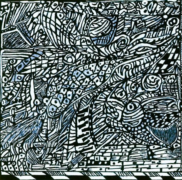 Blues Scale Series #2 Art | Aldo Borromei