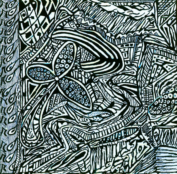 Blues Scale Series #11 Art | Aldo Borromei