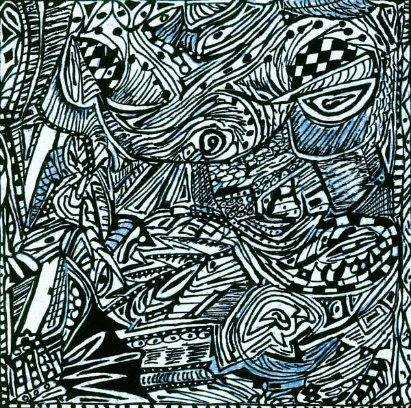 Blues Scale Series #9 Art | Aldo Borromei