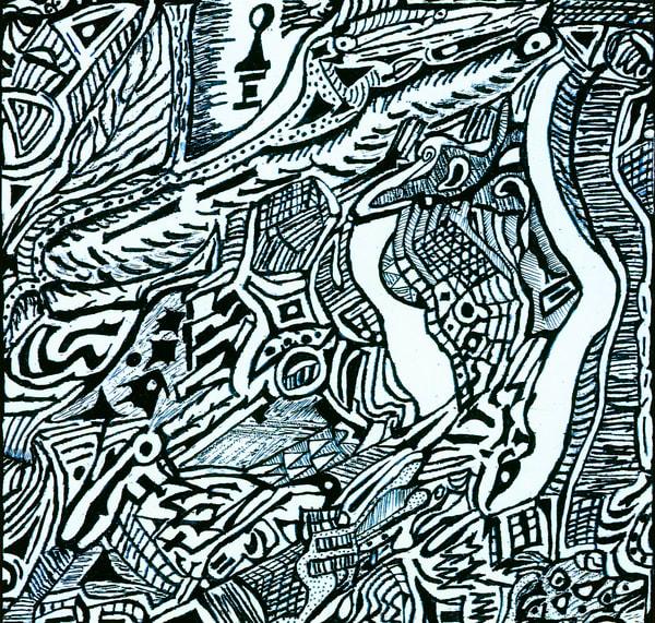 Blues Scale Series #15 Art | Aldo Borromei