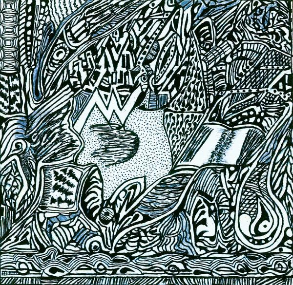 Blues Scale Series #13 Art | Aldo Borromei