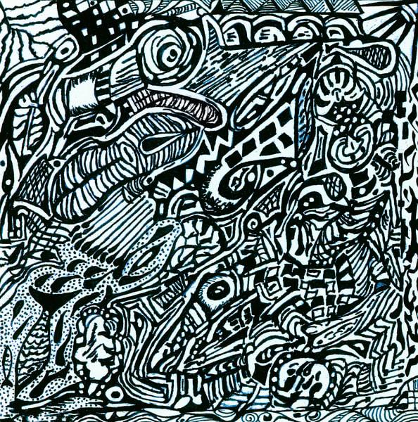 Blues Scale Series #19 Art | Aldo Borromei