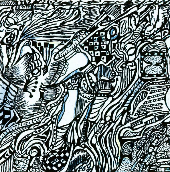 Blues Scale Series #21 Art | Aldo Borromei