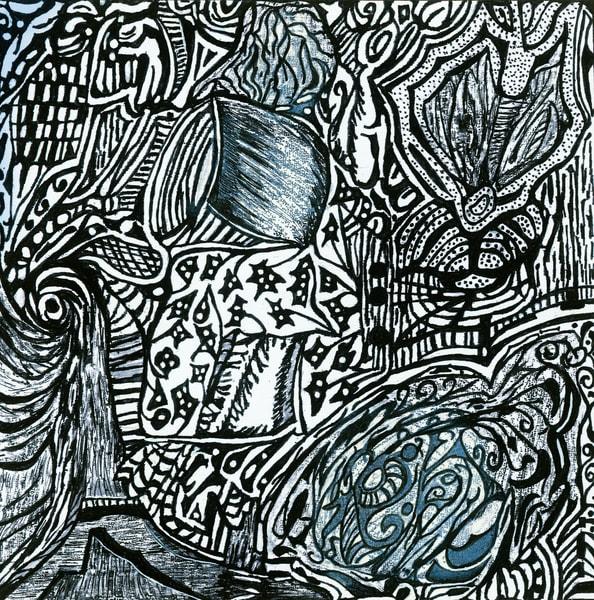 Blues Scale Series #23 Art | Aldo Borromei