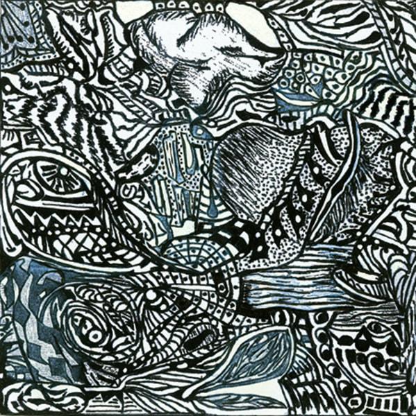 Blues Scale Series #27 Art | Aldo Borromei