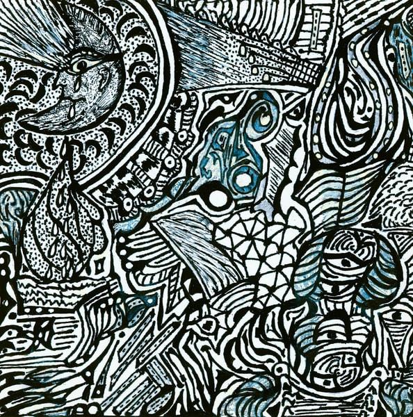 Blues Scale Series #29 Art | Aldo Borromei