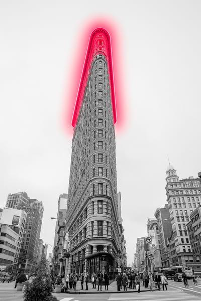 Neon Nyc Flatiron Photography Art | KPBPHOTO