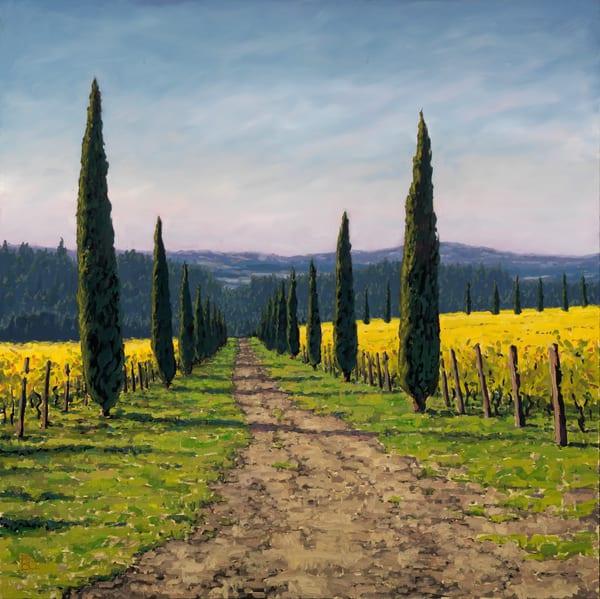 Alloro Vineyard  Art | Michael Orwick Arts LLC