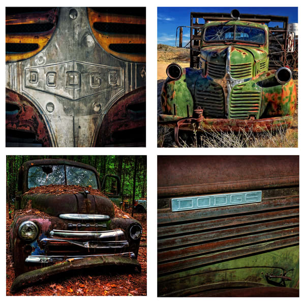 Dodge Trucks Coaster Set | Ken Smith Gallery