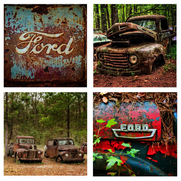 Ford Truck Coaster Set | Ken Smith Gallery