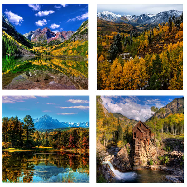 Colorado Coaster Set | Ken Smith Gallery
