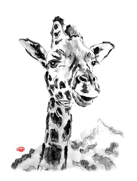 Gus: Giraffe Art | Youngi-Sumistyle pets