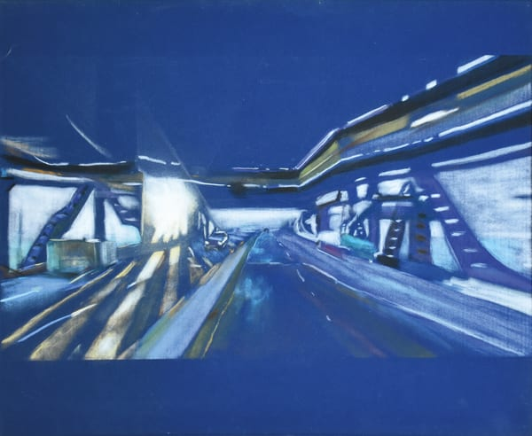 Mercury Chicago Sky Pastel Art | artspecified by nAscent