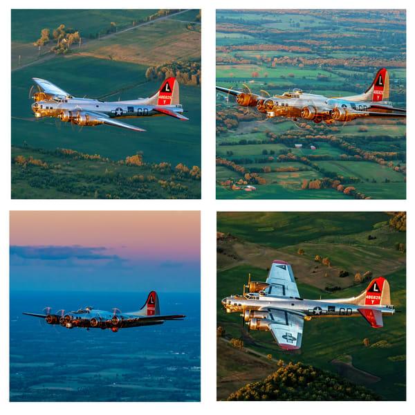 B 17 Flying Fortress Coaster Set | Ken Smith Gallery