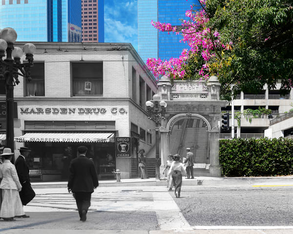 Angels Flight 1 Art | Mark Hersch Photography